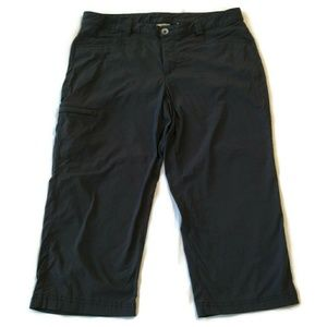Eddie Bauer capri pants travex 12 crop cargo black